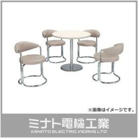 ミズノ 簡易応接セット用椅子(アイボリー) MK717 [MK-717][r20][s9-920]