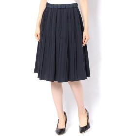 un dix cors / アンディコール ジョーゼットプリーツスカート