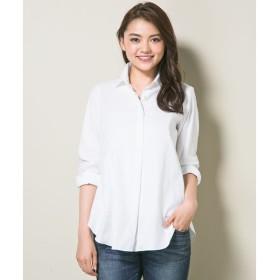 S size ONWARD(小さいサイズ) / エスサイズオンワード Cancliniシャーティング チュニックシャツ