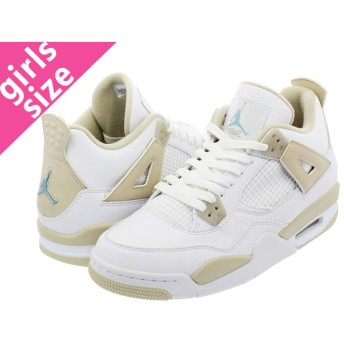 NIKE AIR JORDAN 4 RETRO GG 【LINEN】 ナイキ エア ジョーダン 4 レトロ GG WHITE/BOARDER BLUE/LIGHT SAND