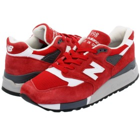 NEW BALANCE M998CRD 【MADE IN U.S.A.】 【Dワイズ】 ニューバランス M 998 CRD RED/WHITE