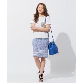 S size ONWARD(小さいサイズ) / エスサイズオンワード Yonetomiアイレットツイード スカート