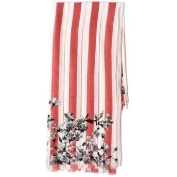 ICB / アイシービー Floral Stripe Print Stole ストール