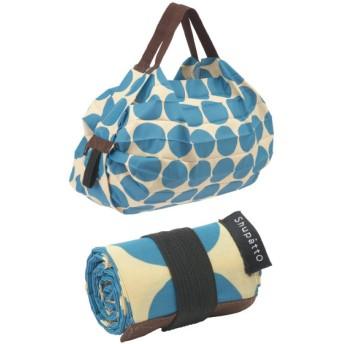 """バッグ カバン 鞄 レディース エコバッグ ショッピングバッグ 一気にたためるコンパクトポケッタブルバッグ""""シュパット""""S カラー ドット"""