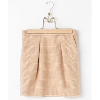 ADAM ET ROPE' / アダム エ ロペ ビーバーグレンチェックタイトスカート