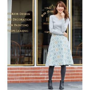 組曲 / クミキョク エアリーヴィンテージJQ スカート