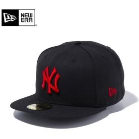 セール20%OFF!【メーカー取次】 NEW ERA ニューエラ 59FIFTY MLB ニューヨーク・ヤンキース ブラックXレッド 11308578 キャップ ブランド