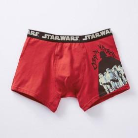 ボクサーパンツ パンツ メンズ インナー 肌着 前とじ ディズニー スター・ウォーズ ダース・ベイダー&ストームトルーパー(レッド) M L LL 3L
