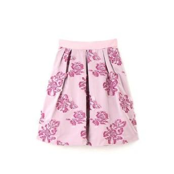 PROPORTION BODY DRESSING / プロポーションボディドレッシング  ビッグフラワーカットジャガードスカート