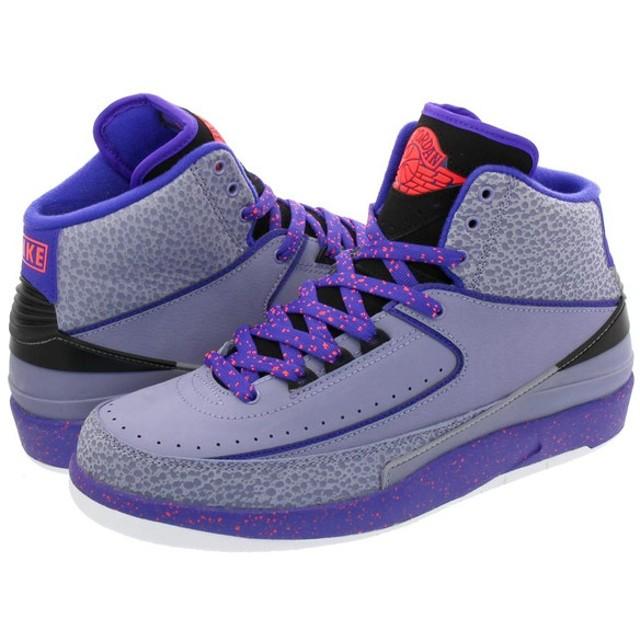 best sneakers 88f5f 1342c NIKE AIR JORDAN 2 RETRO ナイキ エア ジョーダン 2 レトロ IRON PURPLE INFRARED 23