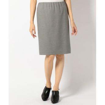 自由区 / ジユウク T/Rモノトーンチェック スカート