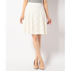 Feroux / フェルゥ 【手洗い可】レーシーフレア スカート