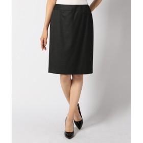 L size ONWARD(大きいサイズ) / エルサイズオンワード Super140s2/2ツイル スカート