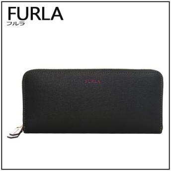 フルラ 長財布 GIOIA XL ZIP AROUND PS30 B30 ONYX(ブラック)ジョイア ラウンドファスナー