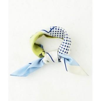 組曲 / クミキョク グラフィカルスカーフプリント スカーフ