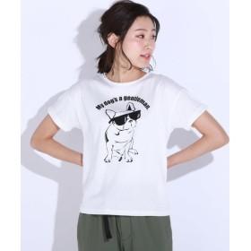 MAYSON GREY / メイソングレイ ポッピープリント天竺Tシャツ