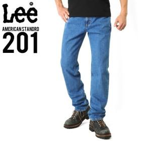 Lee リー AMERICAN STANDRD 201 ストレートデニムジーンズ ブルー(97) ジーパン メンズ ジーンズ ズボン レギュラー ブランド