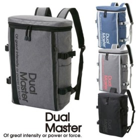 バッグ レディース Dual Master デュアルマスター スクエア リュック A4対応  ニッセン