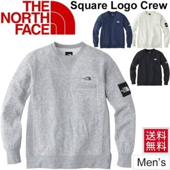 スウェットシャツ トレーナー 長袖 メンズ/ノースフェイス THE NORTH FACE スクエアロゴクルー/ NT11832