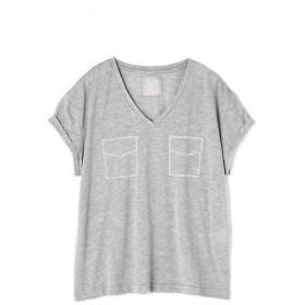 PROPORTION BODY DRESSING / プロポーションボディドレッシング  《BLANCHIC》ロゴTシャツ胸ポケット