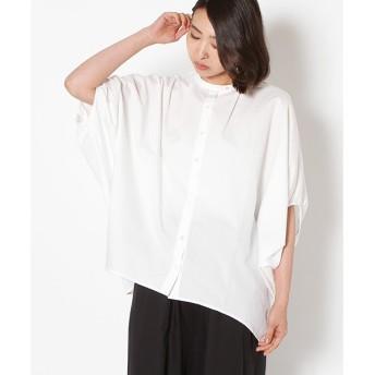 MARcourt / マーコート 台衿コクーンシャツ
