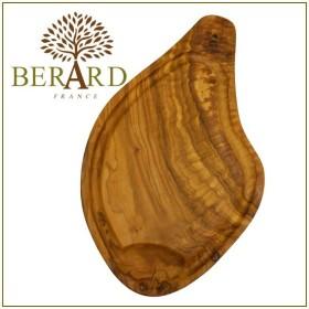 BERARD(ベラール) オリーブウッド カッティングボード 54300 溝付き