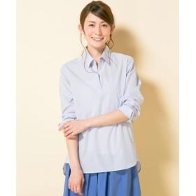 L size ONWARD(大きいサイズ) / エルサイズオンワード A&CシャーティングIII シャツ