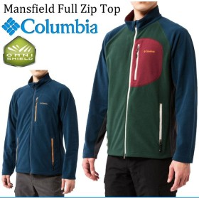 コロンビア Columbia メンズ  フリースジャケット /マンズフィールドフルジップトップ/PM5789/アウトドア 登山