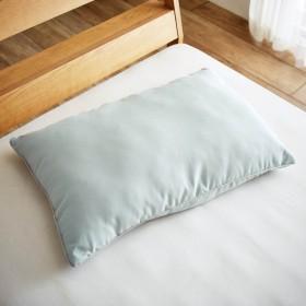 枕 安眠 快眠 頸椎 フィット 安い おしゃれ ふわふわ もちもち マイクロファイバー綿 支える ピロー グレー系 グレー ベルメゾンデイズ ベルメゾン