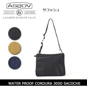 AS2OV アッソブ WATER PROOF CORDURA 305D SACOCHE 141603