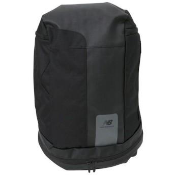 【NEW BALANCEウェア】 ニューバランスウェア トップローディングバックパック ブラック(BK)