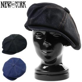 New York Hat ニューヨークハット 6291 デニムステッチ ビッグアップル キャスケット 帽子 メンズ ブランド