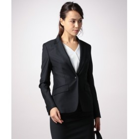 L size ONWARD(大きいサイズ) / エルサイズオンワード Bahariye/SoftChambraySuit テーラードジャケット