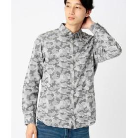 COMME CA ISM / コムサイズム カモフラジャガードシャツ