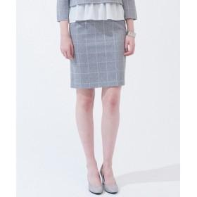 L size ONWARD(大きいサイズ) / エルサイズオンワード ラッセルウィンドペン スカート