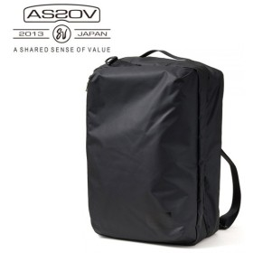 AS2OV アッソブ TRAVEL SERIES TRAVEL CASE 3WAY バッグパック 061800