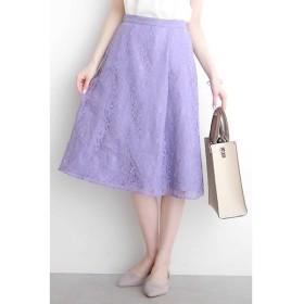 N.Natural Beauty Basic / エヌ ナチュラルビューティーベーシック レースAラインスカート