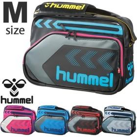 エナメルバッグ  ヒュンメル  Hummel  Mサイズ ショルダーバッグ かばん サッカー スポーツ/HFB3113