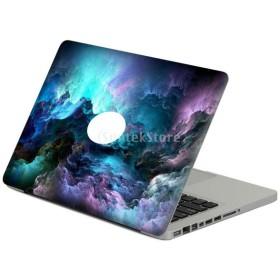 Perfk New MacBook Pro 13.3インチに対応 ラップトップ スキン ステッカー カバー アート デカール プロテクター 超薄型軽量設計 全5タイプ - タイプ4