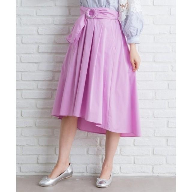 any FAM / エニィファム コットンタイプライターフィッシュテール スカート