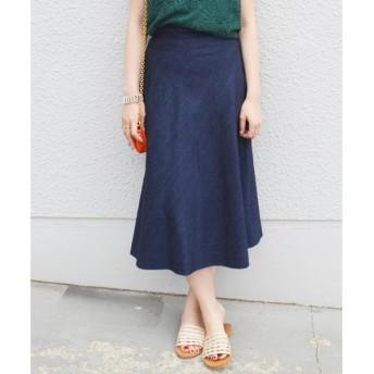 SHIPS for women / シップスウィメン muller of yoshiokubo: デニムフレアスカート