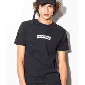 SHIFFON / シフォン ボックスロゴプリントTシャツ