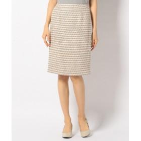 J.PRESS / ジェイプレス T/Rファンシーツィード スカート