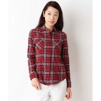 SHIPS for women / シップスウィメン 0081 チェックワイヤーシャツ