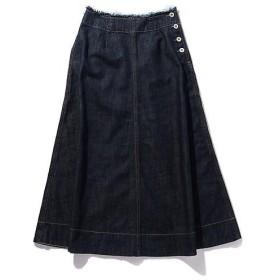 ROSE BUD / ローズ バッド デニムロングスカート