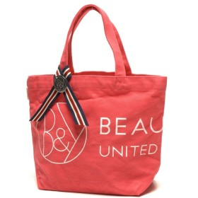BEAUTY&YOUTH UNITED ARROWS / ビューティ&ユース ユナイテッドアローズ BY ピンクリボンキャンバスロゴトート2