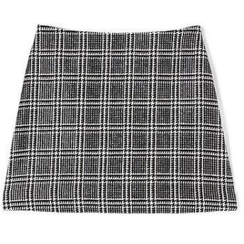 JILLSTUART / ジルスチュアート メアリーチェックツイード台形スカート