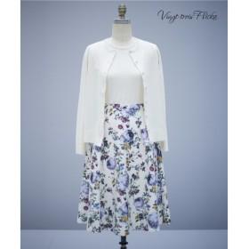23区 / ニジュウサンク 【Vingt-trois Flicka】Flower Print skirt スカート