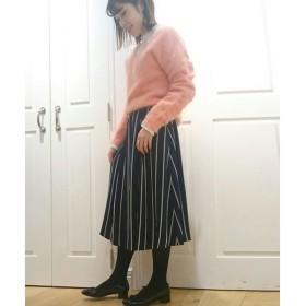 NIMES / ニーム サテンストライプ スカート