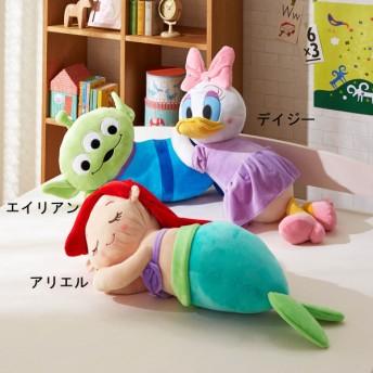 枕 抱き枕 ディズニー かわいいぬいぐるみのような抱き枕 カラー アリエル